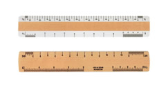 Wooden Architectural Rulers