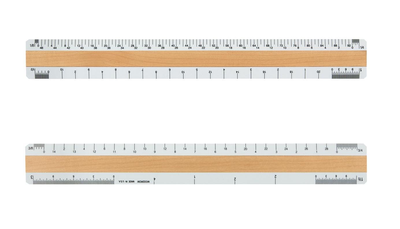 4210a architechtural ruler. Black Bedroom Furniture Sets. Home Design Ideas
