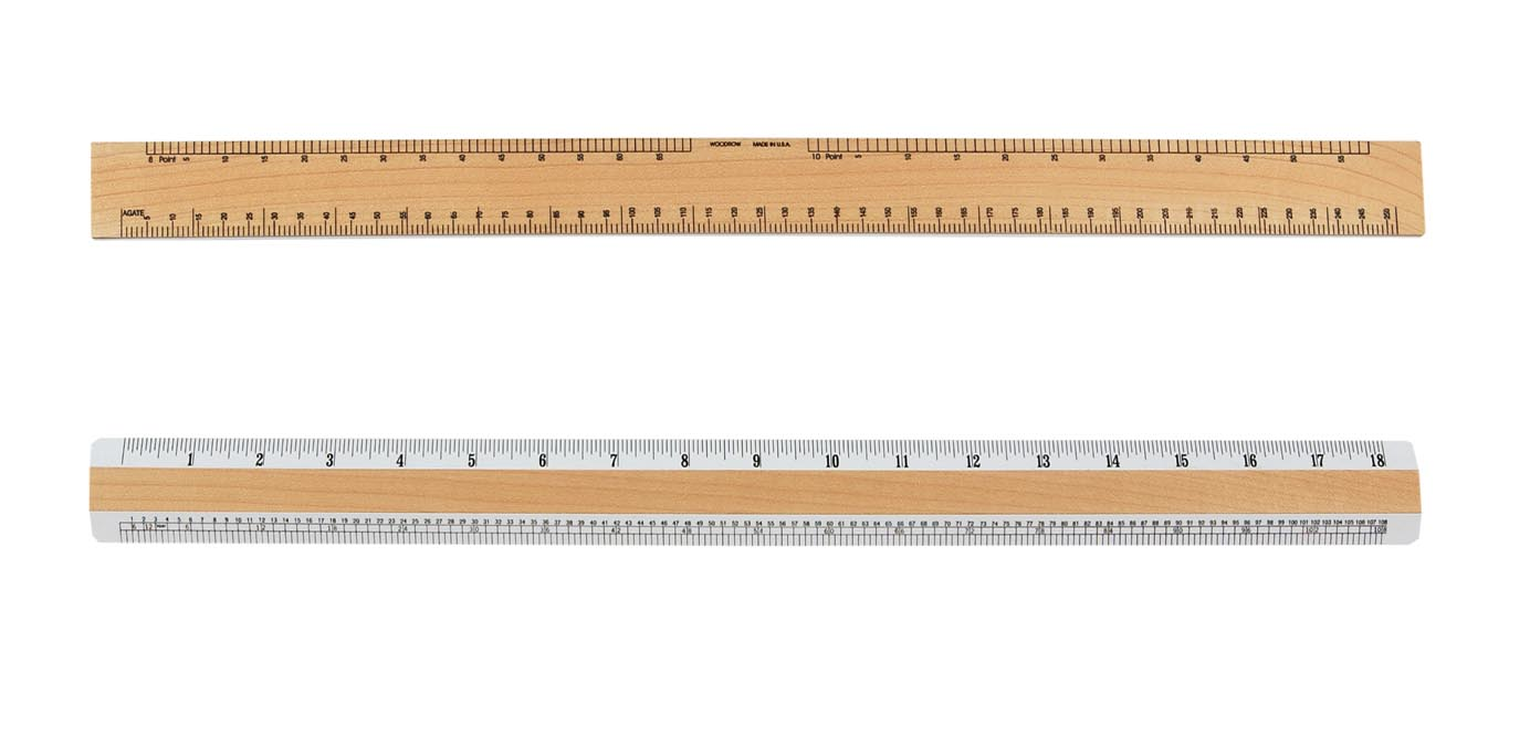 6 Inch Metal Ruler  Machinists Scale  MicroMark